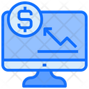 Earning Business Stock Trading Icon
