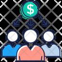 Shareholder Stockholder Financial Investor Icon