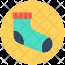 Stocking Socks Footwear Icon