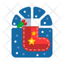 Stocking Socks Christmas Icon