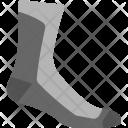 Foot Wearing Sock Icon
