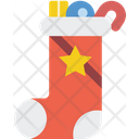 Christmas Stocking Xmas Icon