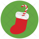 Candy Cane Stockings Icon
