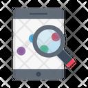 Stockmarket Search Online Icon