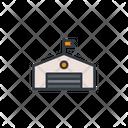Stockroom Warehouse Storage Icon