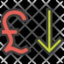 Stocks Finance Pound Icon