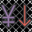 Stocks Finance Yen Icon