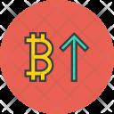 Stocks Finance Bitcoin Icon