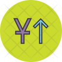 Stocks Finance Yuan Icon