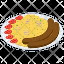 Stoemp Platter Belgian Cuisine Belgian Food Icon