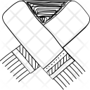 Stole Muffler Scarf Icon