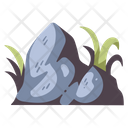 Stone Rock Forest Icon