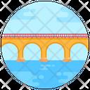 Stone Arch Bridge Railroad Bridge Footbridge Icon