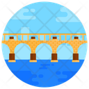 Stone Bridge Skopje Bridge Footbridge Icon