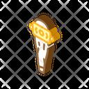 Viking Bat Isometric Icon
