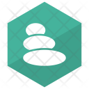 Stone Therapy Beauty Massage Icon