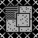 Stone Tiles Icon