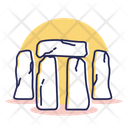 Travel Destination Stonehenge Icon