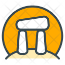 Stonehenge Architecture Structure Icon
