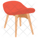 Stool Chair Massage Chair Icon
