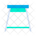 Kitchen Stool Sitting Stool Furniture Icon