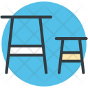 Stool Bench Chair Icon