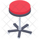 Stool Seat Footrest Icon