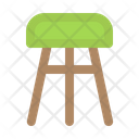 Stool Furniture Chair Icon