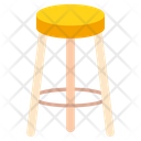 Furniture Stool Tabouret Icon