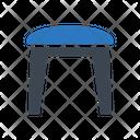 Stool Table Interior Icon