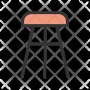 Stool Furniture Icon