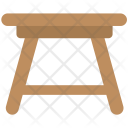Stool Table Kitchen Icon