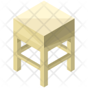 Small Table Stool Icon