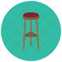 Bar Stool Seat Icon