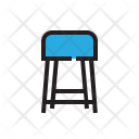 Stool Seat Chair Icon