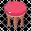 Bar Stool Stool Chair Furniture Icon