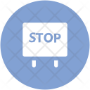 Stop Sign Drive Icon