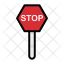 Stop Stop Signboard Signboard Icon