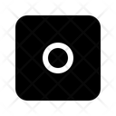 Stop Square Record Icon