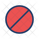 Stop Block Secure Icon