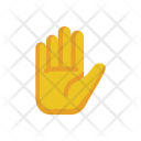 Stop Palm Gesture Icon