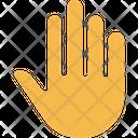 M Hand Icon