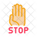 Stop Bullying Aggression Icon