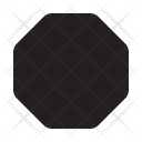 Stop Sign Symbol Icon