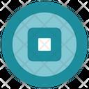 Interface Circle Media Icon