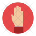 Stop Hand Gesture Icon