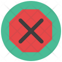 Stop Sign Cancel Icon