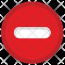 Stop Cancel Minus Icon