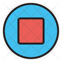 Stop Sign Pause Icon