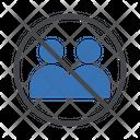 Stop Communication Gathering Icon